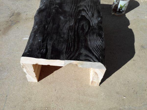 Фальшбалка из дерева потолочная