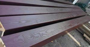 декоративная фальш балка из дерева