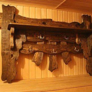 Вешалка для бани под старину