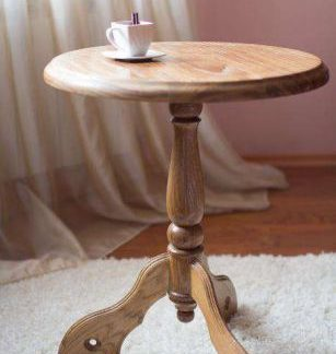 Кофейный столик из дуба, купить стол в Харькове