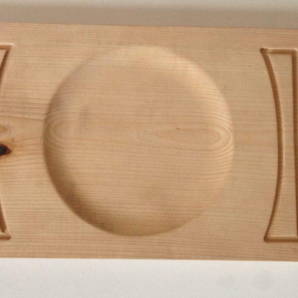 Деревянная доска для подачи блюд