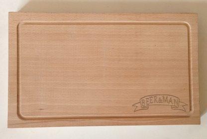Деревянная доска для ресторана с нанисением логотипа купить в Харькове