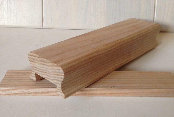 Деревянное перило из ясеня купить