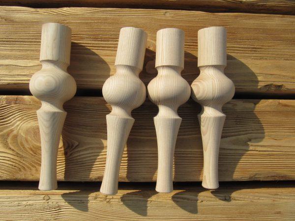 Мебельные ноги из дерева