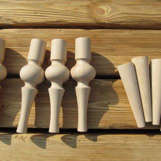 Мебельные конусные ноги