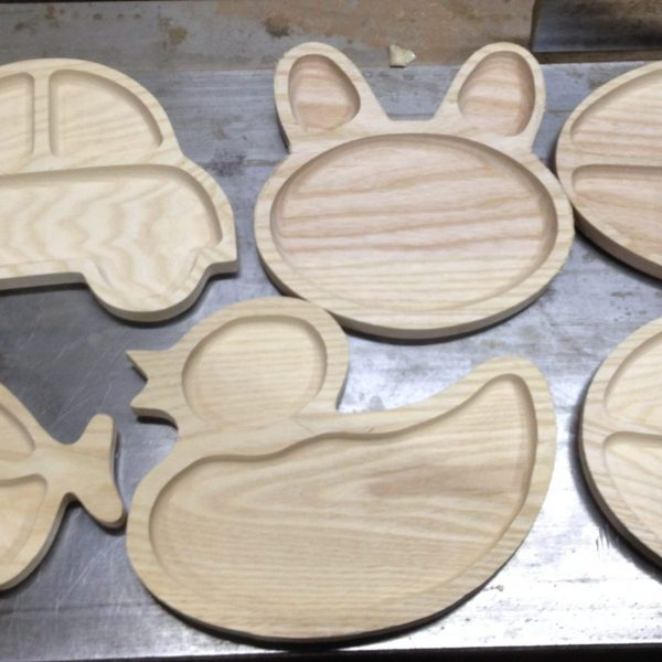 Фигурная деревянная посуда для детей купить Харьков, Киев, Одесса