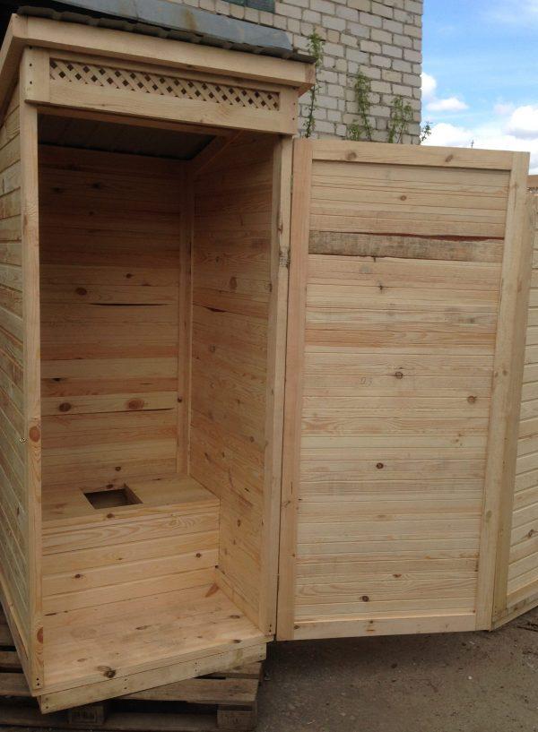 Деревянный туалет для дачи купить Харьков, Киев,Одесса