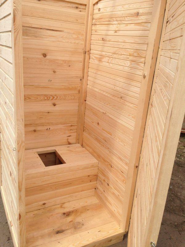 Деревянный туалет для дачи купить Харьков,Киев, Одесса