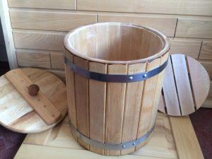 Деревянная бочка из березы Харьков Бондарные изделия