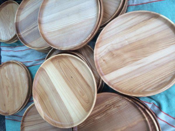ИЗделия из дерева деревянные тарелки