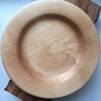 Деревянная тарелка купить из клена
