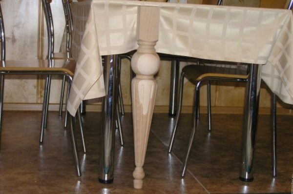 Деревянная ножка для стола купить
