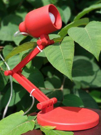 Настольная лампа Красная