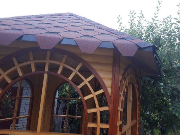 Крыша в беседки