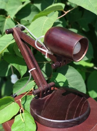 Настольная лампа из дерева купить в Харькове, Киеве