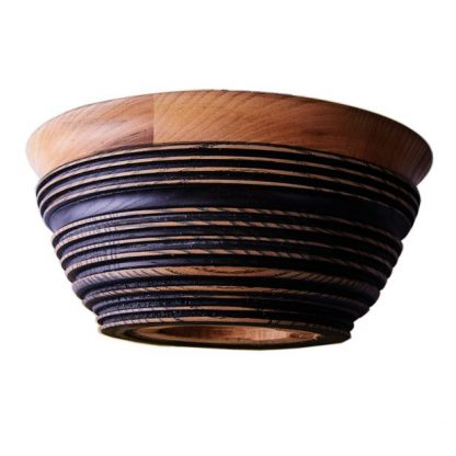 тарелка для супа из дерева Фото 1