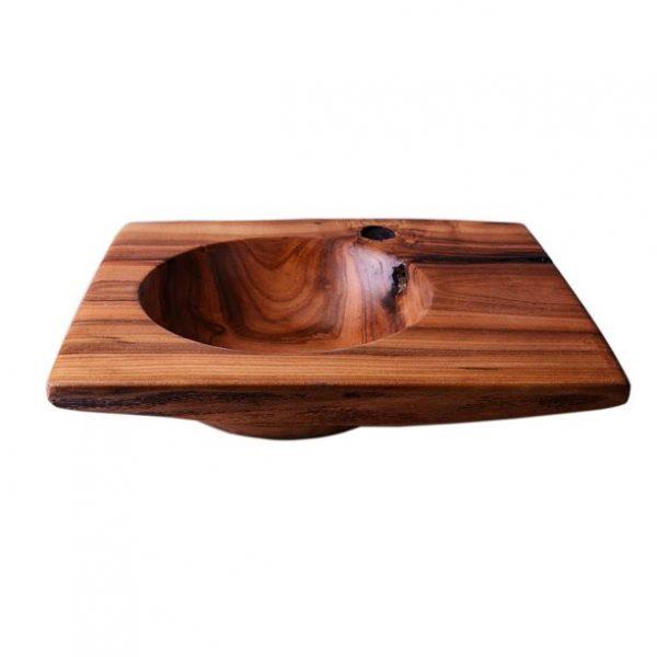 Нереально красива деревянная декоративная тарелка