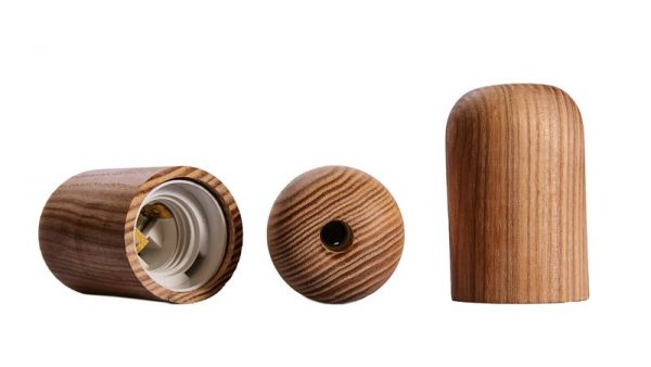 Декоративные патроны из дерева