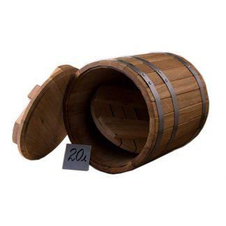 Кадка из дуба 20 л для соления купить в Харькове