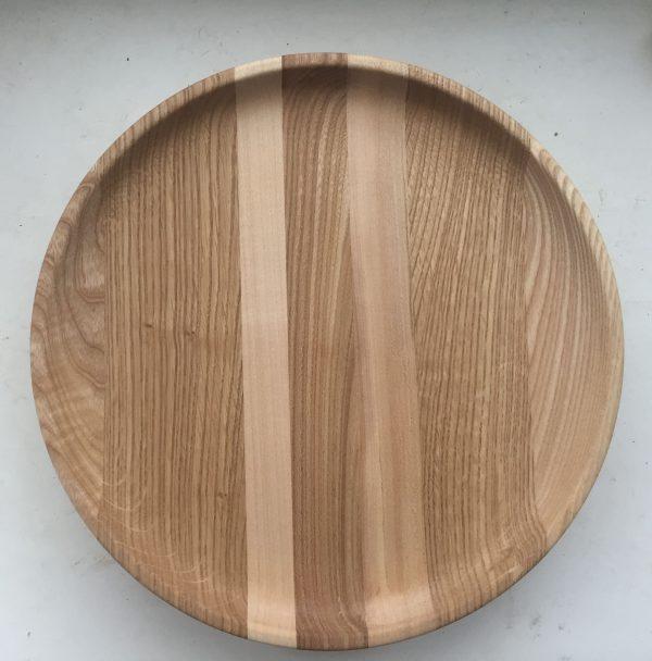 тарелка из дерева 2
