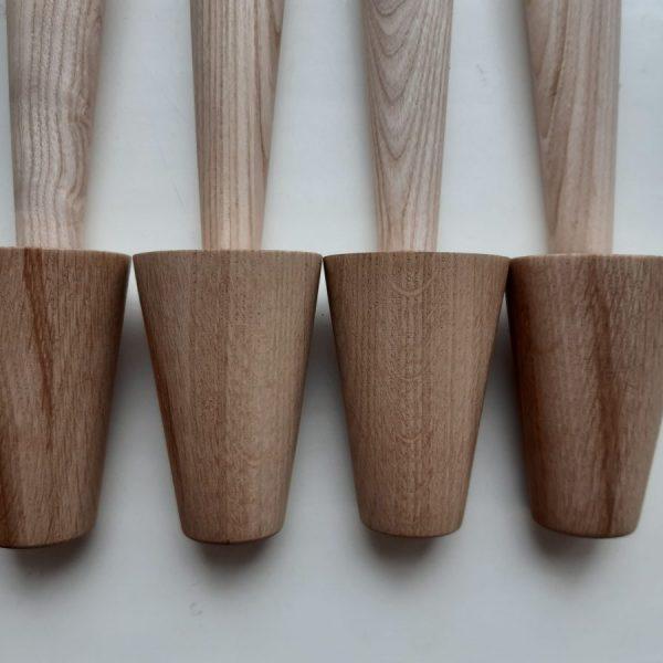 мебельные конусные ножки из дерева