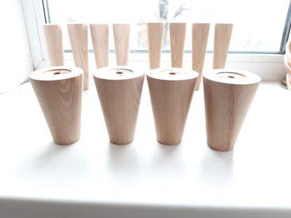 Мебельные конусные ножки из дерева купить