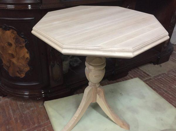 деревянный стол из ясеня и сосны