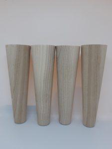 Конусные мебельные ножки из ясеня 150. 45. 25 купить