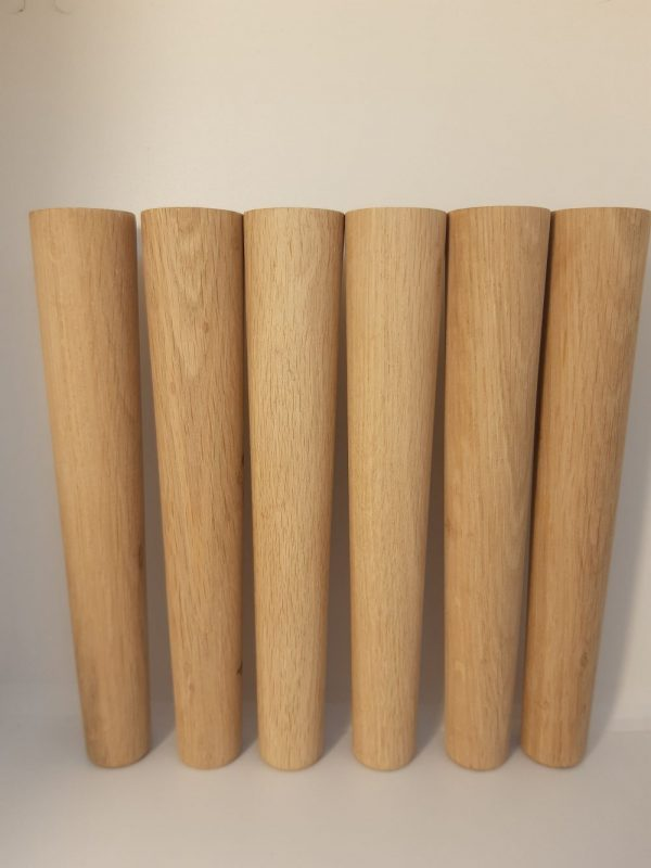 Конусные ножки из дуба h180 купить