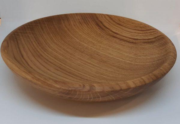 Тарелка из дуба 19см