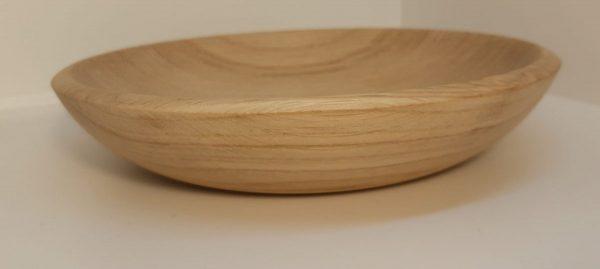 Тарелка из дуба 20 см