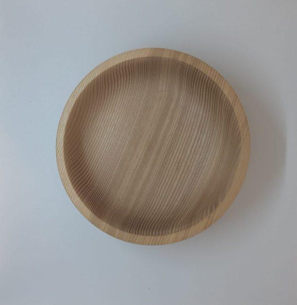 Тарелка из ясеня 15 см .