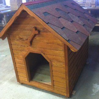 изготовление будки для собакхарьков