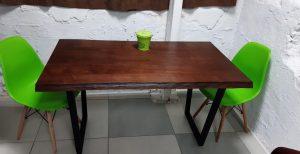 Обеденный стол из дерева ясеня купить Харьков