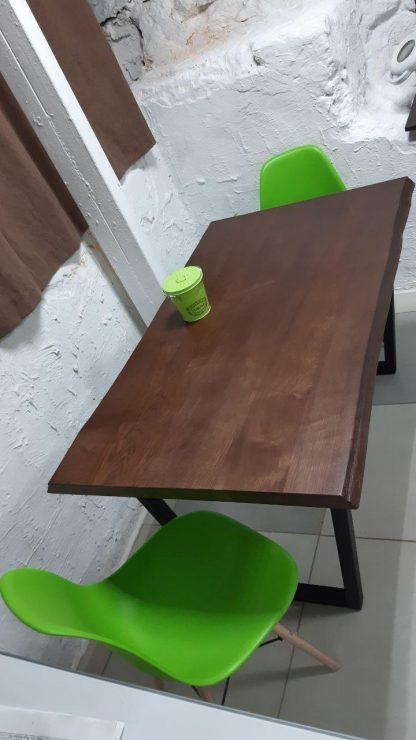 Обеденный стол из дерева ясеня купить в Харькове