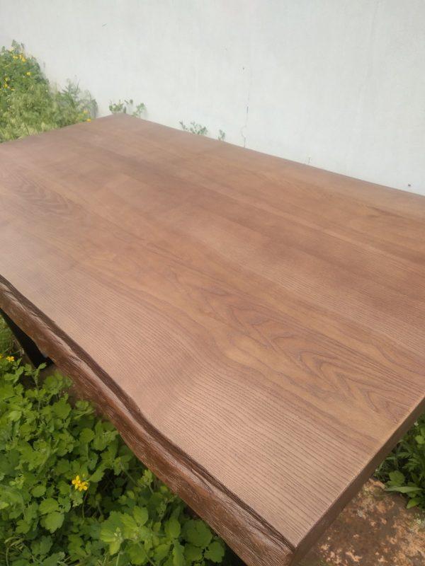 Стол из дерева живой край