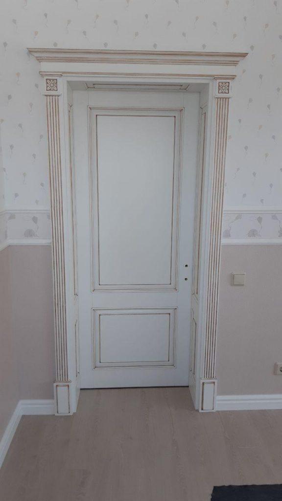 💥🟢Межкомнатная дверь из массива ясеня