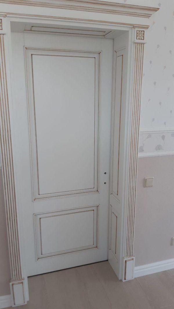 дверь в комнату из ясеня