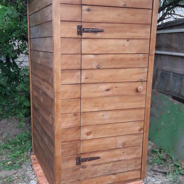 деревянный туалет для купить