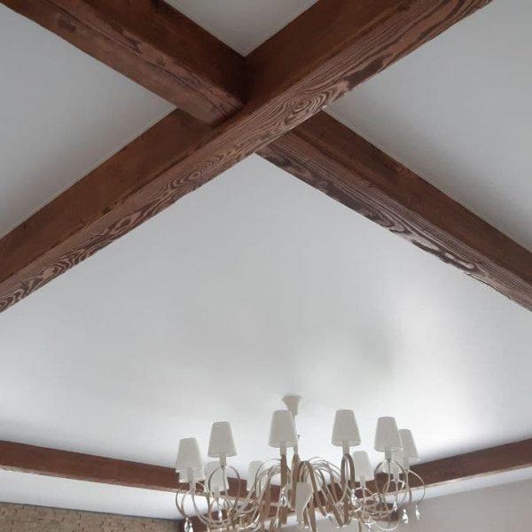 Потолочные балки из дерева