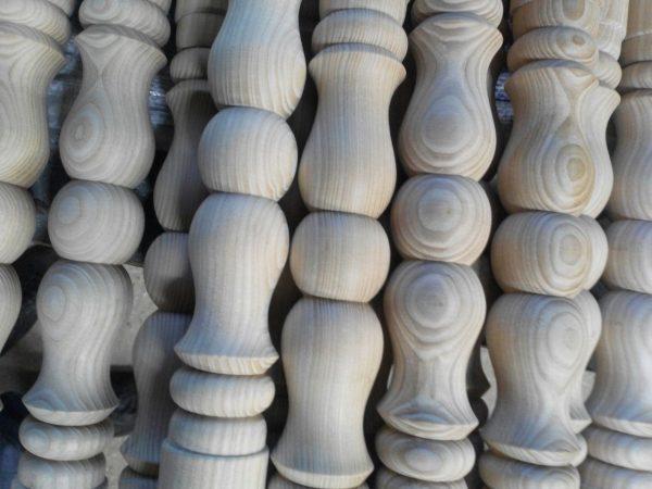 Балясина из дерева ясеня