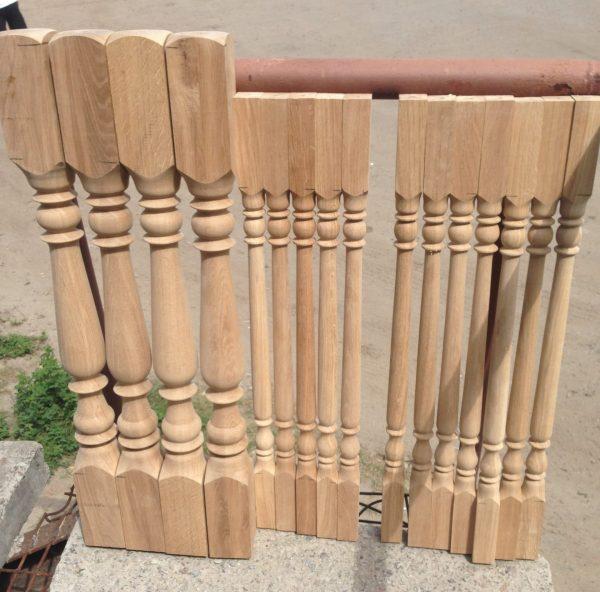 Купить деревянные балясины Харьков